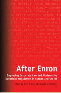 Bloomsbury Collections - After Enron - Improving Corporate