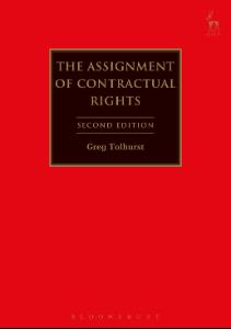 Bloomsbury Collections - The Assignment of Contractual Rights